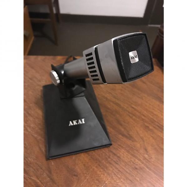 Custom AKAI Square Broadcast Mic 1970s Silver & Black #1 image