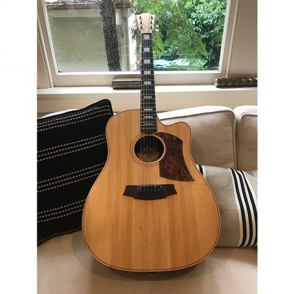 Custom Cole Clark Fat Lady (FL2AC) Rosewoood Back & Sides with Ebony Fingerboard 2011 Natural #1 image