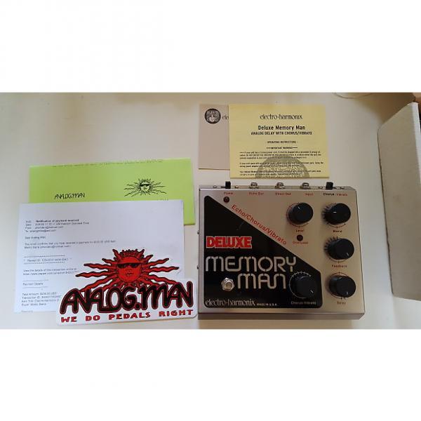 Custom Electro-Harmonix Analogman modded Deluxe Memory Man #1 image