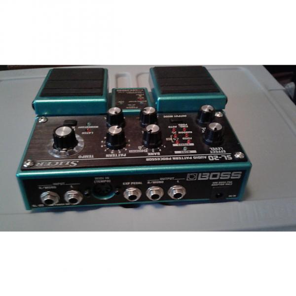 Custom Boss SL 20 Slicer pedal Green/turquois sparkle #1 image