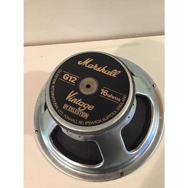 Custom Celestion Marshall Vintage 30 16ohm free ship Black / Silver #1 image