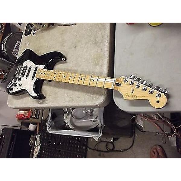 Custom Fender Stratocaster 2011 Black #1 image
