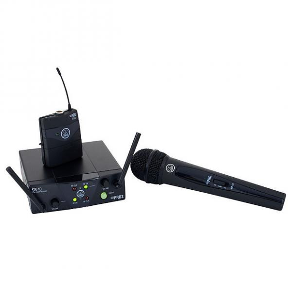 Custom AKG WMS40 Mini Dual Vocal/Instrumental Wireless Set #1 image
