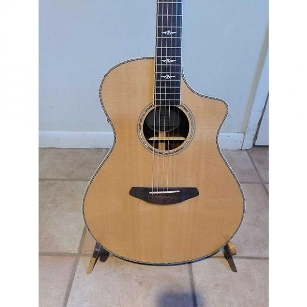 Custom Breedlove Stage Concert 2015? Gloss Natural Electric/acoustic New #1 image