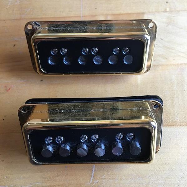 Custom Gretsch/Lindy Fralin re-wound Dynasonic Pickups RWRP #1 image
