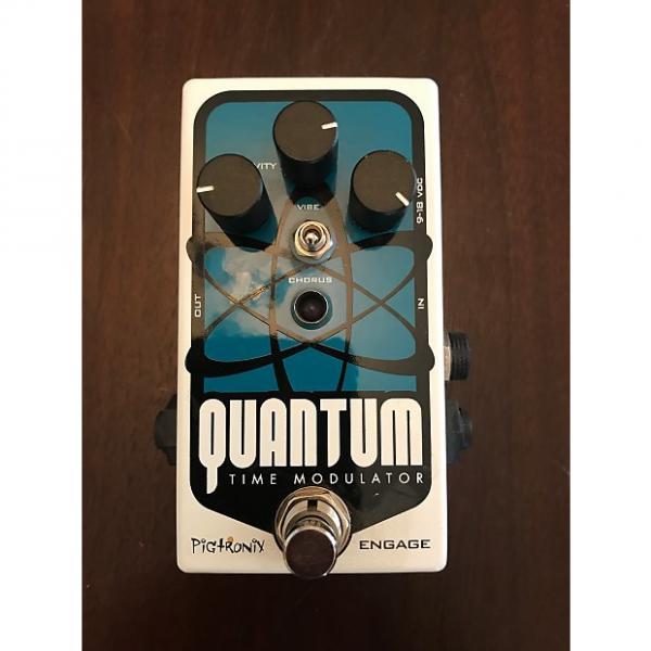 Custom Pigtronix Quantum Time Modulator exlnt condition w/box #1 image