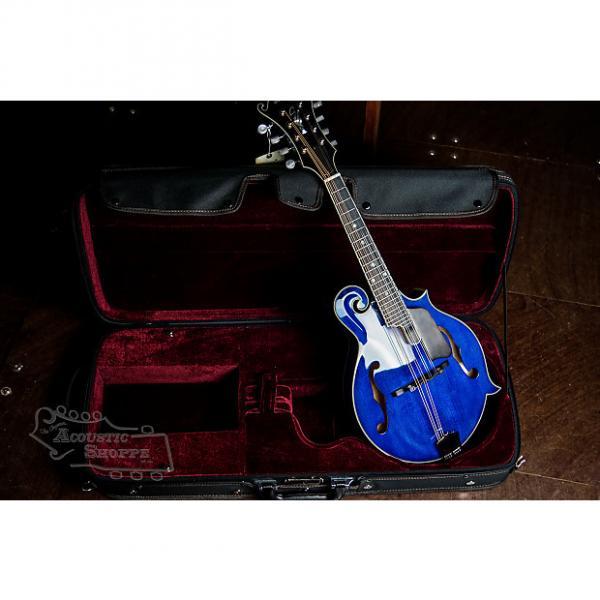 Custom Eastman MD815PGE-BLU F-Style Mandolin #1 image