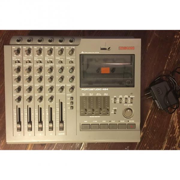 Custom Tascam Portastudio 424 - four track cassette recorder #1 image