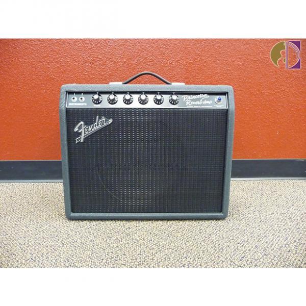 "Custom Fender  '68 Princeton Black Limited 2017, Alnico Blue 12"" Speaker, Free Shipping in USA #1 image"