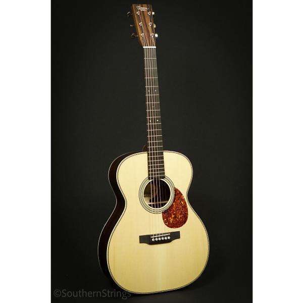 Custom Preston Thompson East Indian Rosewood OM Guitar #1 image