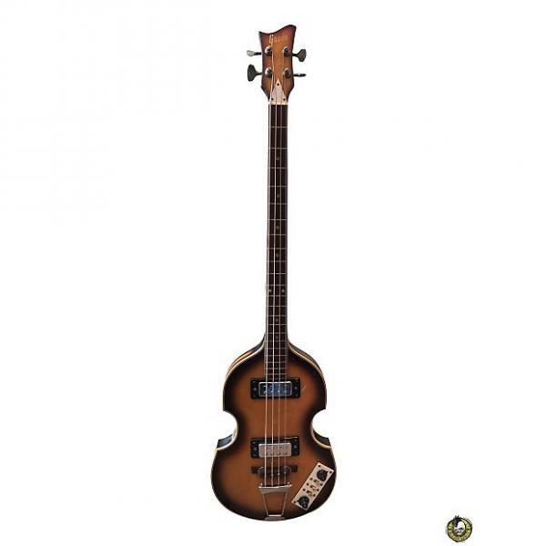 Custom Greco Hofner Lawsuit Bass Sunburst Made in Japan #1 image