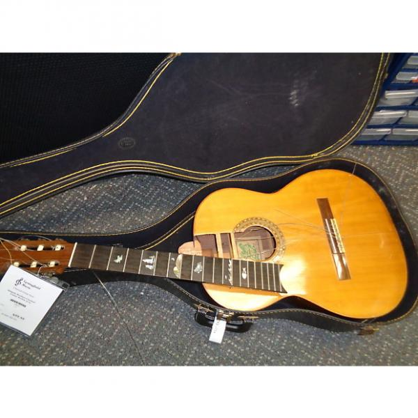 Custom vintage Delgado Brothers Classical nylon string guitar AS IS For parts or repair #1 image