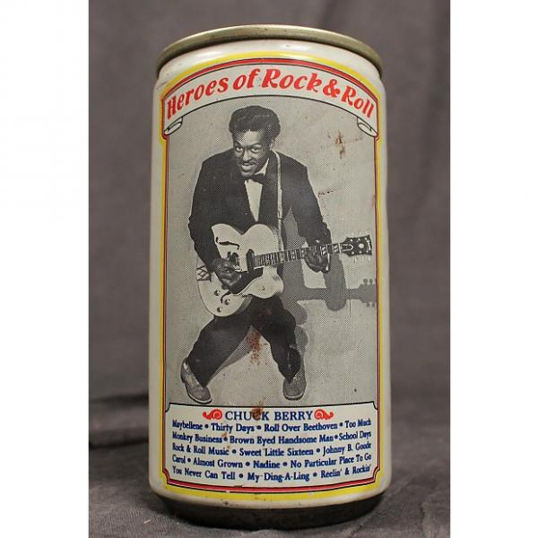 Custom Chuck Berry Rock and Roll Beer Can (Vintage) #1 image