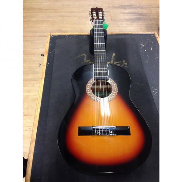 Custom Sunlite 1/2 size Classical Guitar  Sunburst #1 image
