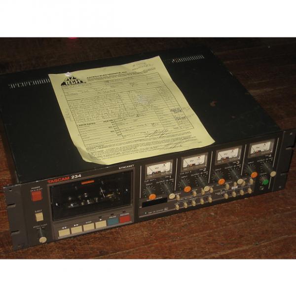 Custom Tascam 234 Syncaset w/90 Day Warranty, 4 Track Analog Cassette Recorder, MIJapan TEAC dbx #1 image