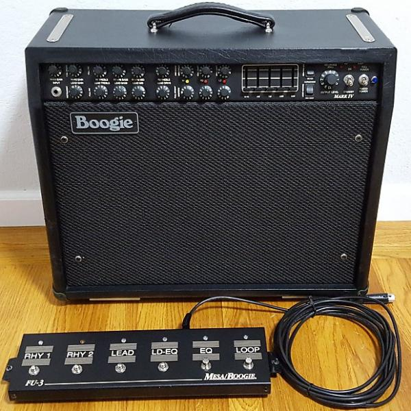 Custom Mesa Boogie Mark IV Widebody Combo Long Chassis Guitar Amplifier #1 image