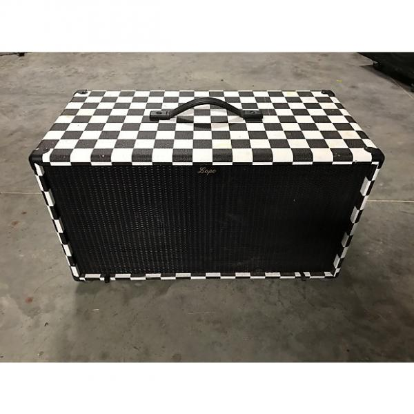 Custom Custom Celestion Vintage 30 2x12 guitar cab 2x12 Checkered #1 image