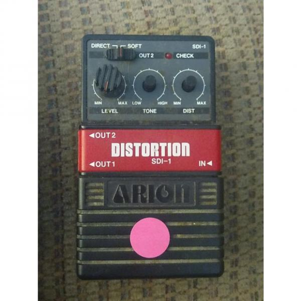 Custom Arion SDI-1 90s? Black Distortion Pedal #1 image