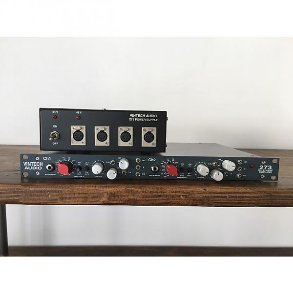 Custom Vintech Audio 273 Dual Preamp With Power Supply #1 image