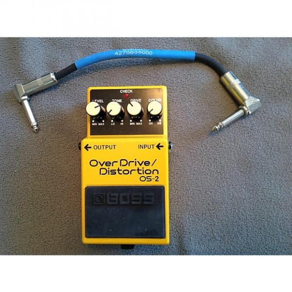 Custom Boss  Os-2 overdrive distortion pedal #1 image