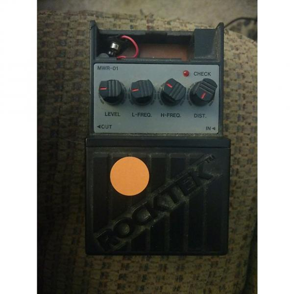 Custom Rocktek MWR-01 90s? Black  Metal Worker Distortion #1 image