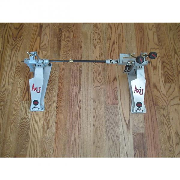 Custom Axis Long Boards Direct Drive Double Bass Drum Pedals, Excellent Condition! #1 image
