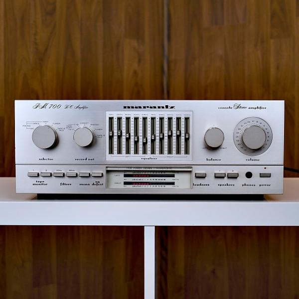 Custom Marantz PM700 Stereo Console Amplifier- Excellent Condition with 60 Day Warranty! #1 image