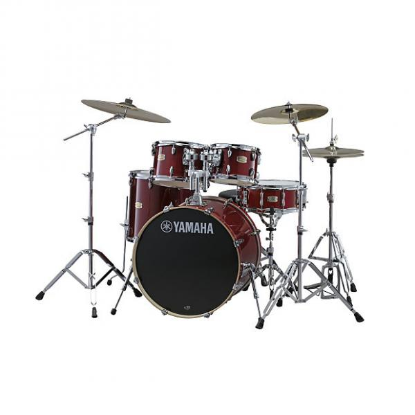 Custom Yamaha Stage Custon SBP0F5 CR Drum New In Box Unplayed 2017 Cranberry Red #1 image