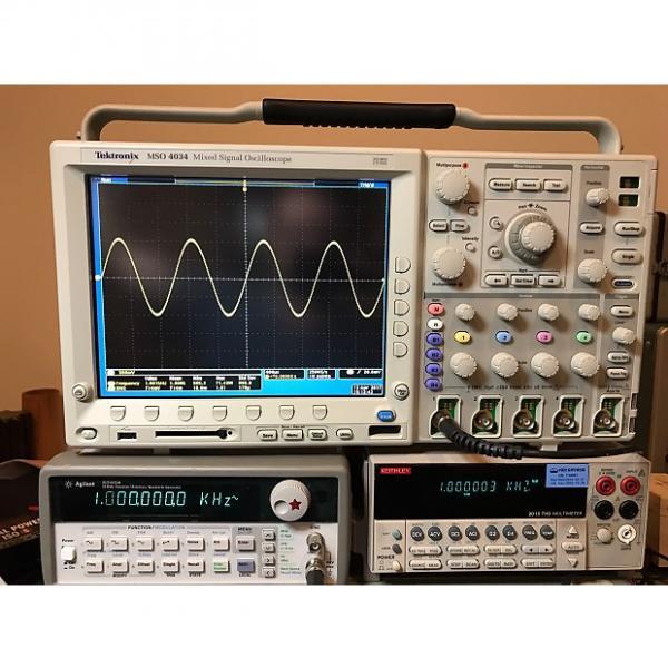 Custom Tektronix MSO4034 Oscilloscope 350 MHz 4 CH 2.5 GS/s #1 image