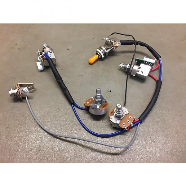Custom Epiphone  Full wiring harness w/push/pull coil tap  2016 #1 image