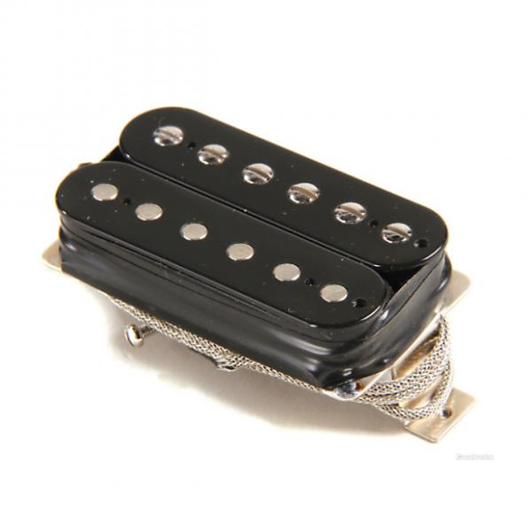 Custom Gibson Burstbucker Type 1 Pickup - Double Black Neck or Bridge 2-Conductor #1 image