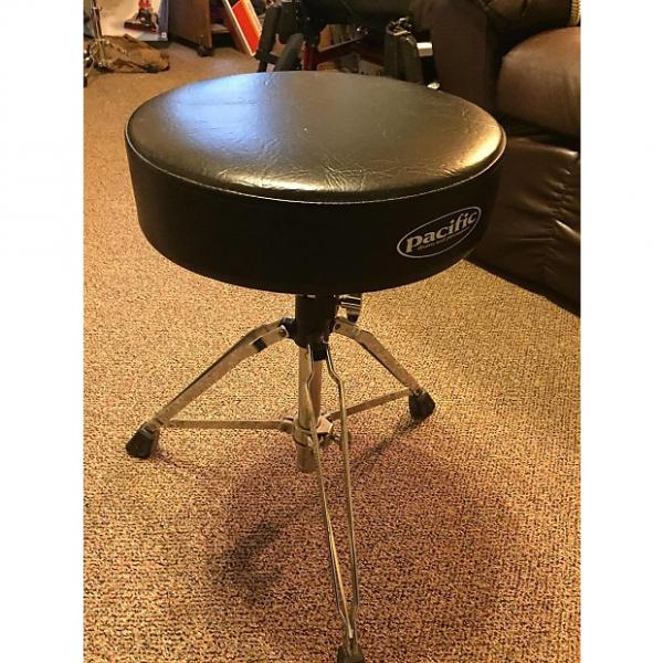 Custom Pacific  Drum Stool Black #1 image