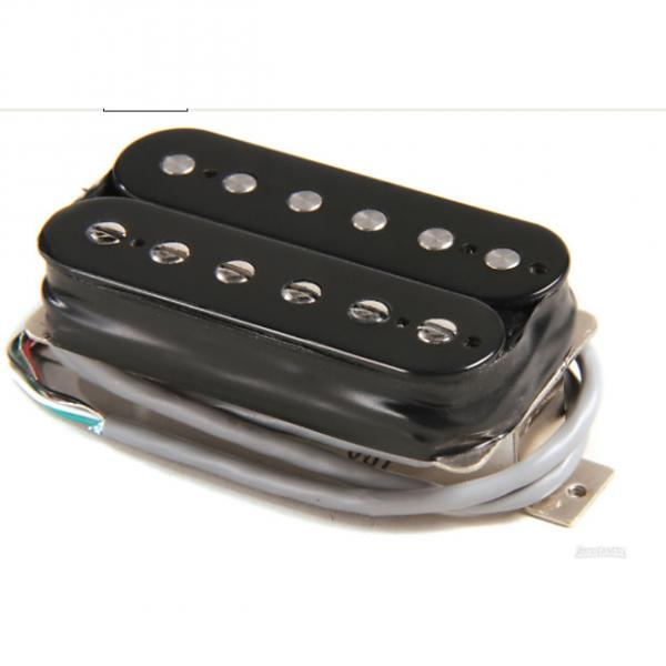 Custom Gibson 496R Hot Ceramic Pickup - Double Black Neck 4-Conductor #1 image