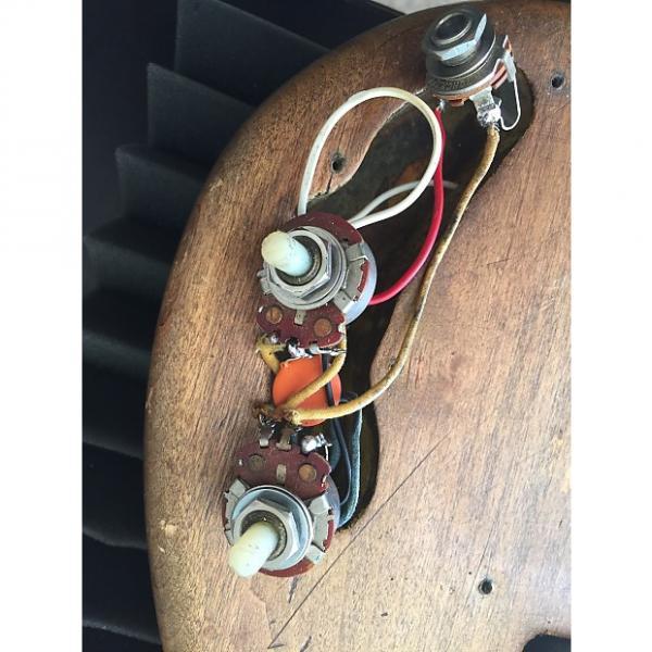 Custom Fender 1966 Fender Precision Bass Pots Potentiometers 1965 67 68 69 1960's 1966 Original #1 image