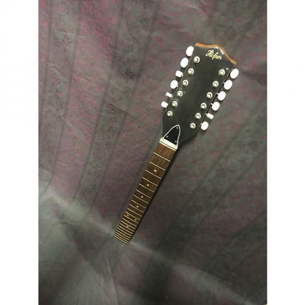 Custom Hofner Vintage 12 String Acoustic Hofner Neck #1 image