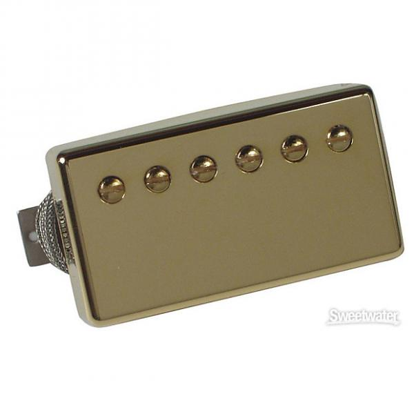 Custom Gibson Burstbucker Pro Pickup - Gold Bridge 2-Conductor #1 image