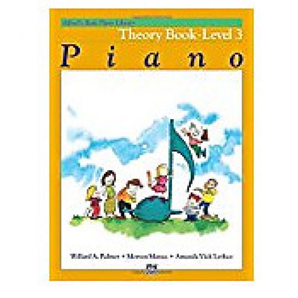 Custom Alfred's Basic Piano Library Level 3 - Theory #1 image