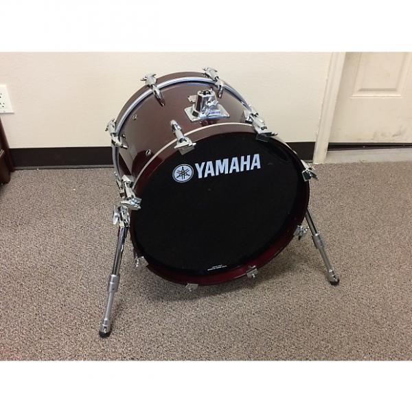 "Custom Yamaha Maple Custom Absolute 18"" x 14"" Bass Drum / Riser (Japan Made) #1 image"