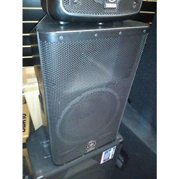 Custom Yamaha DXR12 Powered Speaker (Pair) Black #1 image