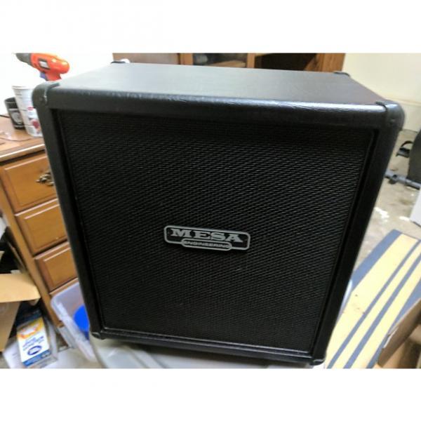 Custom Mesa Boogie 1x12 Mini Recto Straight Cabinet 2016 Black #1 image