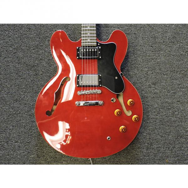Custom Epiphone Dot Cherry Red Electric Guitar #1 image