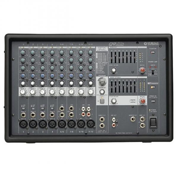 Custom Yamaha  EMX212S Powered Mixer Black #1 image