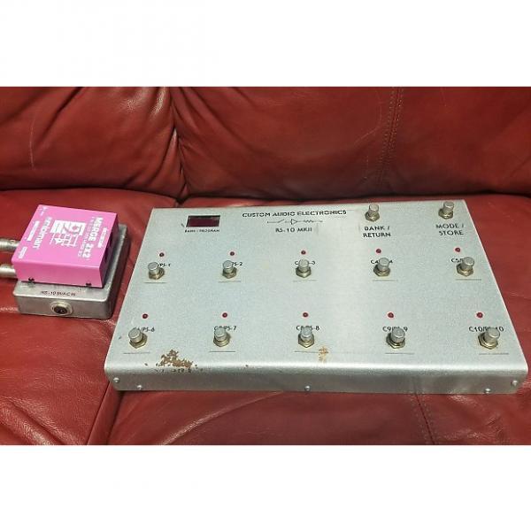 Custom Custom Audio Electronics CAE (Bob Bradshaw) RS-10 MKII MK2 Footswitch Controller #1 image