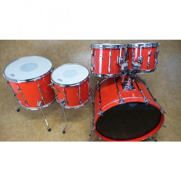 Custom Premier XPK 5pc Shell Pack Candy Red #1 image
