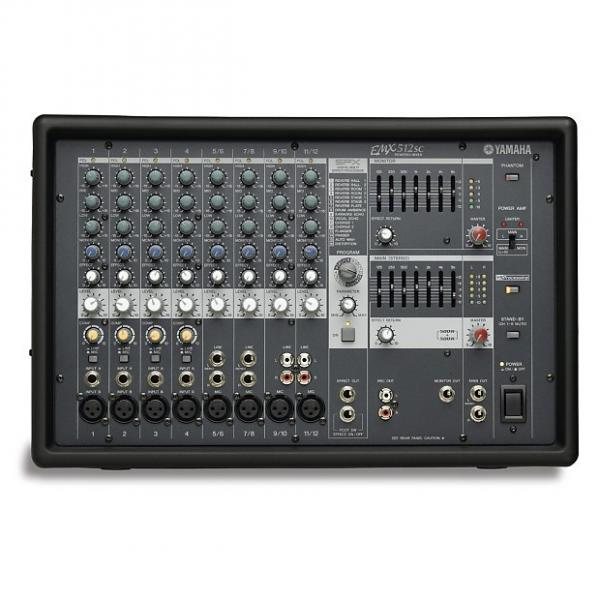 Custom Yamaha EMX512SC Powered Mixer 500 Watts X2 Black #1 image