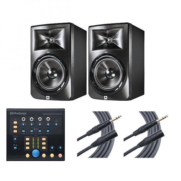 Custom 2x JBL LSR308 + Monitor Station V2 + Mogami Cables #1 image