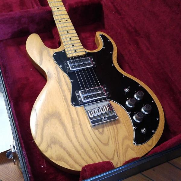 Custom Peavey T-60 1979 #00376747 Natural Made in USA w/Hard Case #1 image