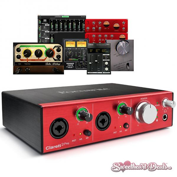 Custom Focusrite Clarett 2Pre - Thunderbolt Interface with Clarett Microphone Preamps #1 image