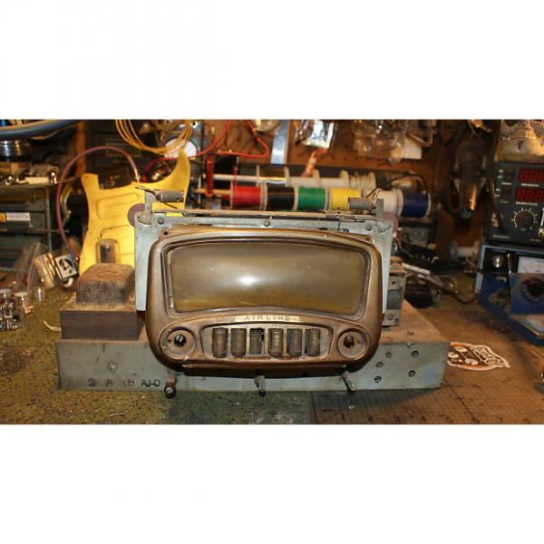 Custom 1940s Wards Airline~AM Short Wave Console Radio Chassis not tested tube, project #1 image