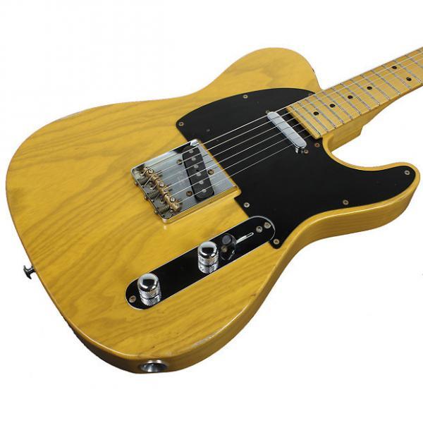 Custom Suhr Classic T Antique Guitar, Butterscotch Blonde #1 image